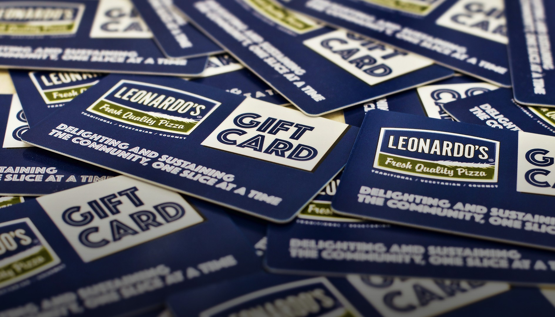 Leonardo's gift card collection